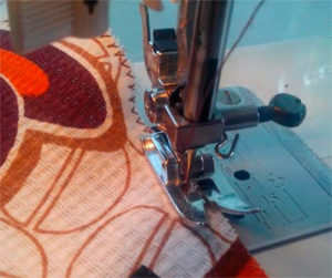 Обработка края ткани