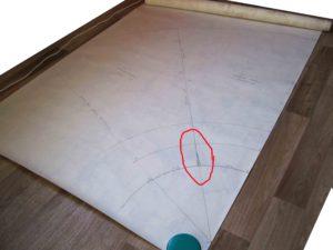 Юбка колокол выкройка. Линия бокового шва