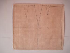 Выкройка-основа прямой юбки
