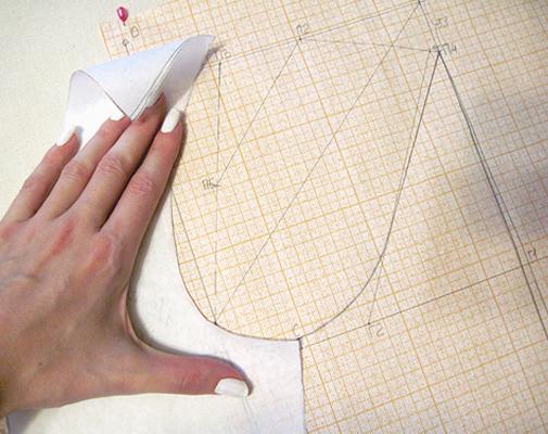 Шаг 6 (чертеж на бумаге)