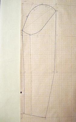Шаг 7 (чертеж на бумаге)