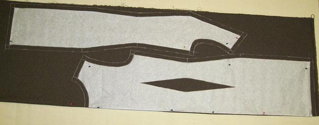 Расклад на ткани