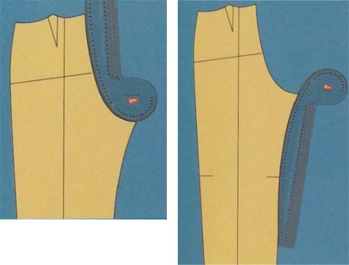 Швы брюк