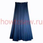 «Солнечная» юбка