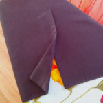 Шьем классическую шлицу на юбке
