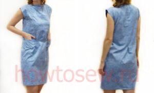 Шьем платье из прямоугольников