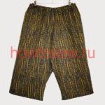 Шьем мужские шорты на резинке. Карман с отрезным бочком