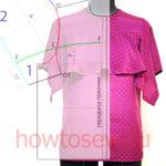 Блуза с воланом: моделирование