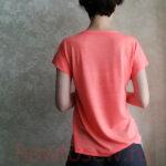 Женская футболка с цельнокроеным рукавом
