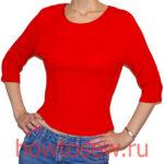 Шьем футболку с рукавом типовой реглан