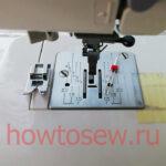 Двойная игла и швейная машина Janome